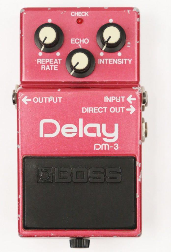 Boss DM-3 pedal