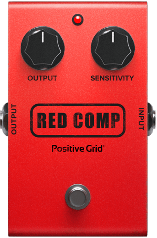Red Comp Pedal