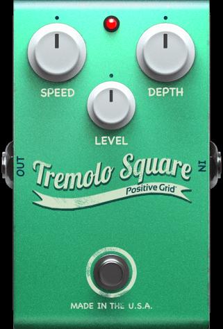 Tremolo Square Pedal